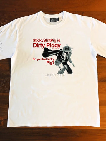 DIRTY PIGGY - WHITE