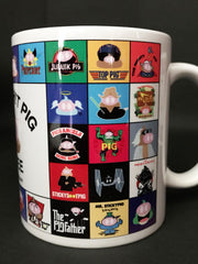 The Sticky Sh!t Pig Coffee Mug