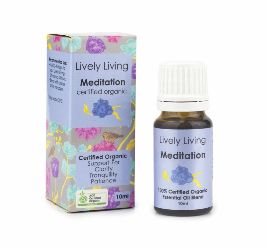Meditation Organic Essential Blend