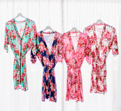 Floral Robes