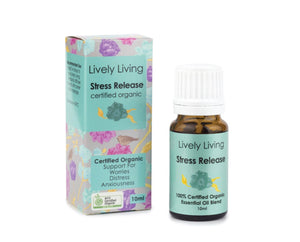 STRESS RELEASE Organic Essential Oil Blend