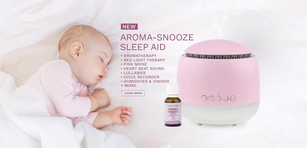 AROMA SNOOZE SLEEP AID VAPORISER  & OIL BUNDLE