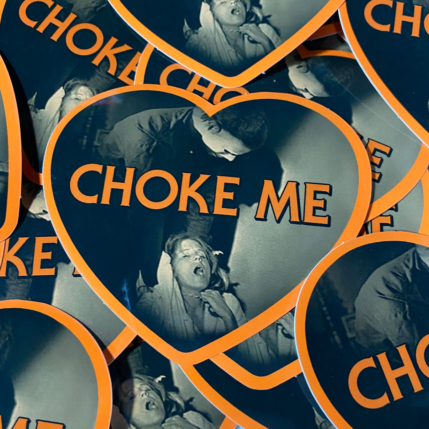 Choke Me Mike - Sticker