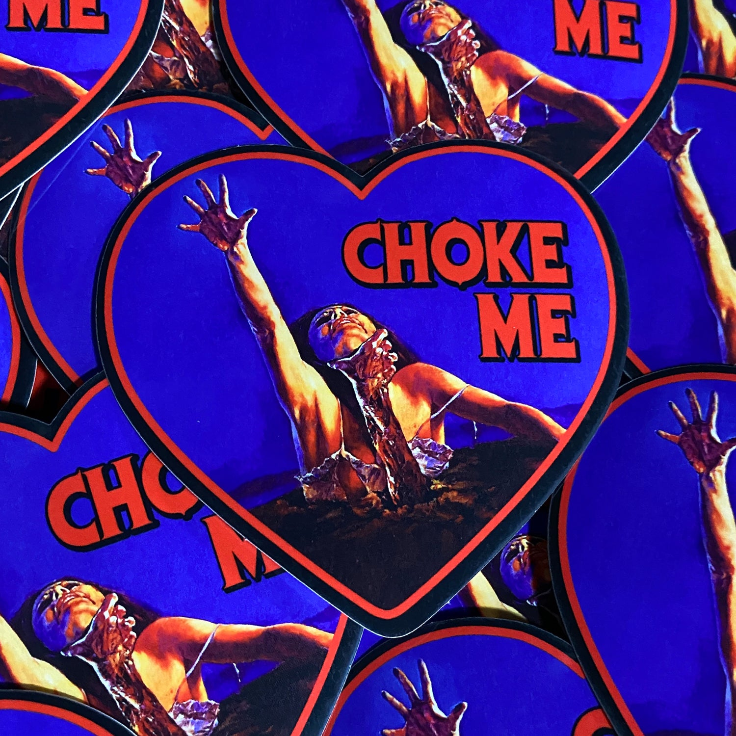 Choke Me Dead - Sticker