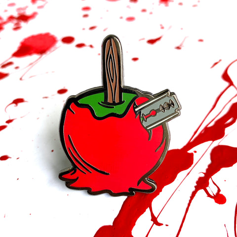 Razor Apple - Bad Candy Series - Enamel Pins