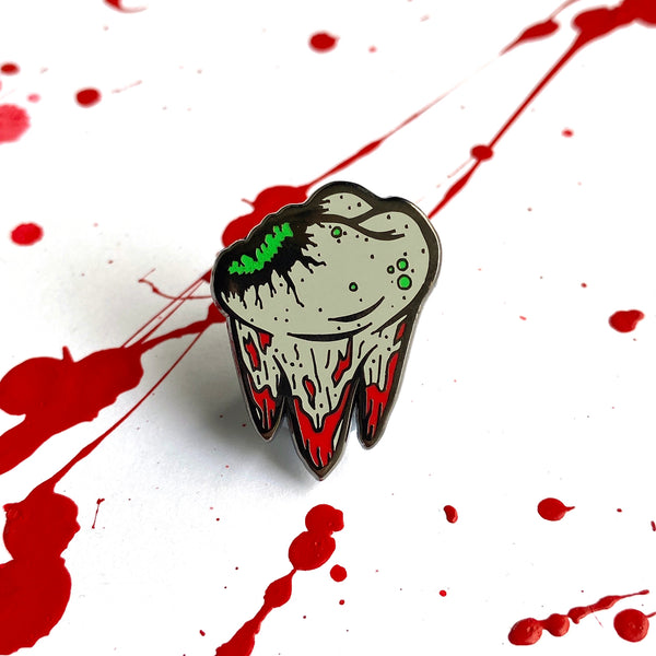 Rotten Tooth - Bad Candy Series Enamel Pins