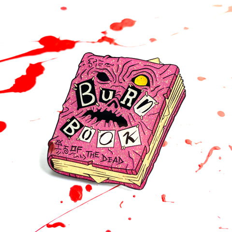 Burn Book of the Dead - Enamel Pin