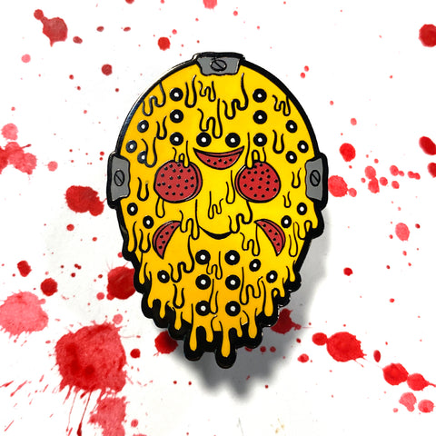 Jason Voorcheese - Enamel Pin
