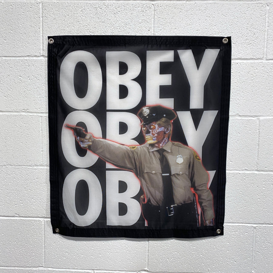OBEY - Banner
