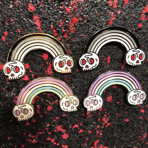 Death Rainbow - Enamel Pins