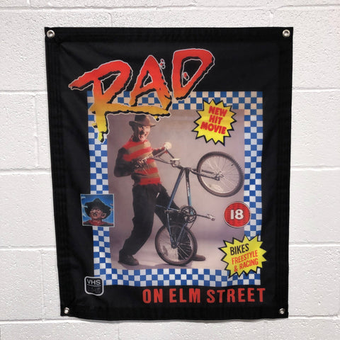 Rad On Elm Street - Banner