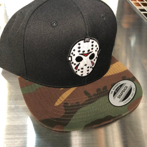 Camp Killer - Black Hat / Camo Bill - Snapback