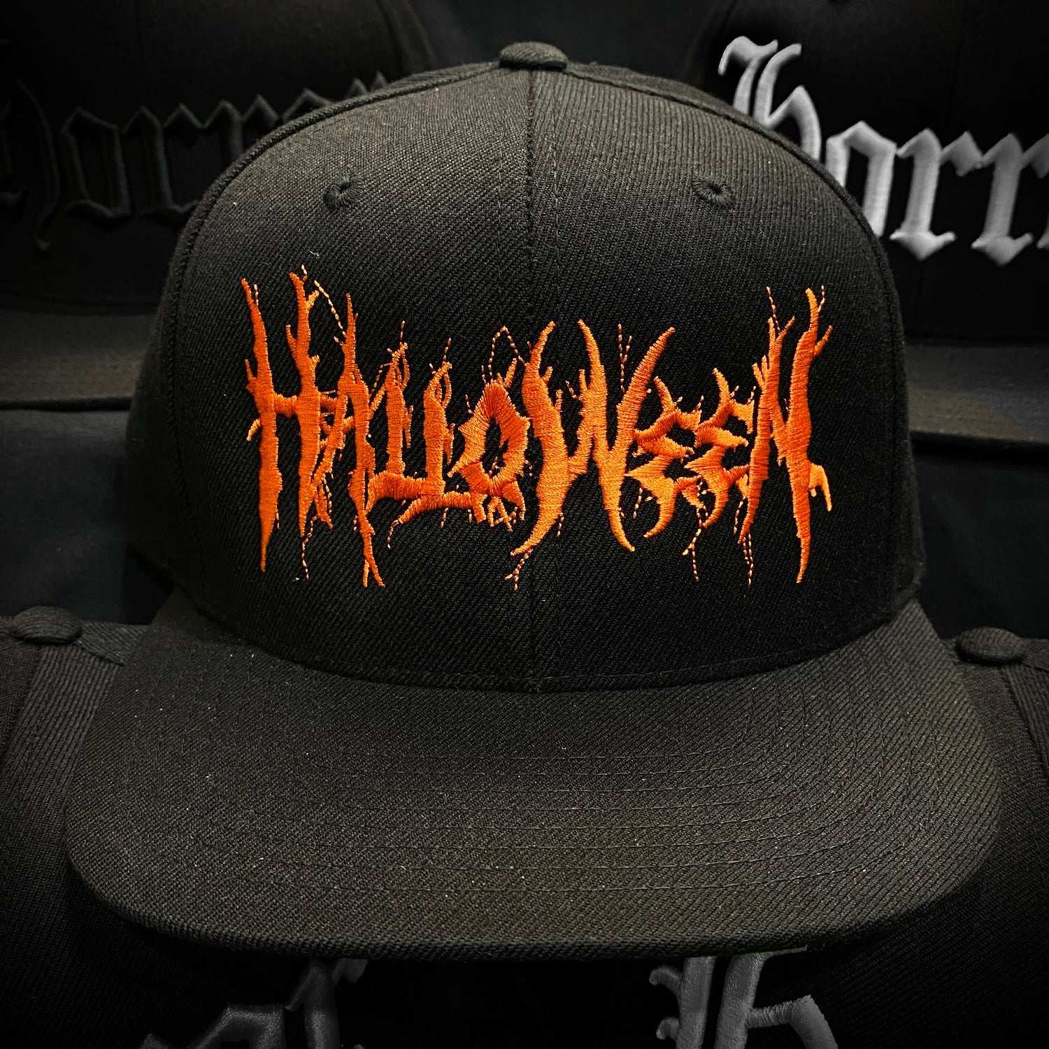 Halloween Metal - Orange/Black - Hat