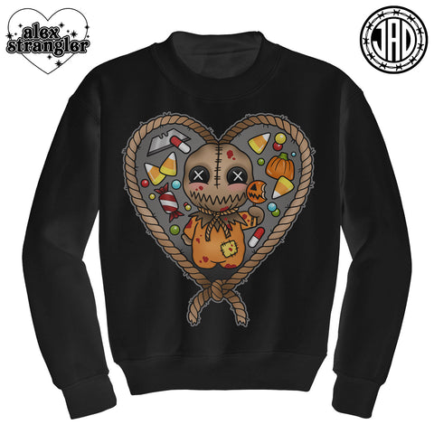 Always Check Your Candy - Mens (Unisex) Crewneck Sweater