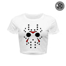 Big Hockey Mask - Women's Crop Top