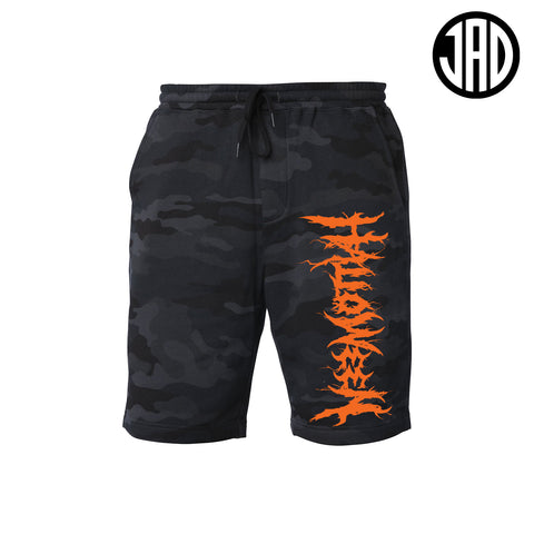 Halloween Hardcore (Orange) - Mens Shorts