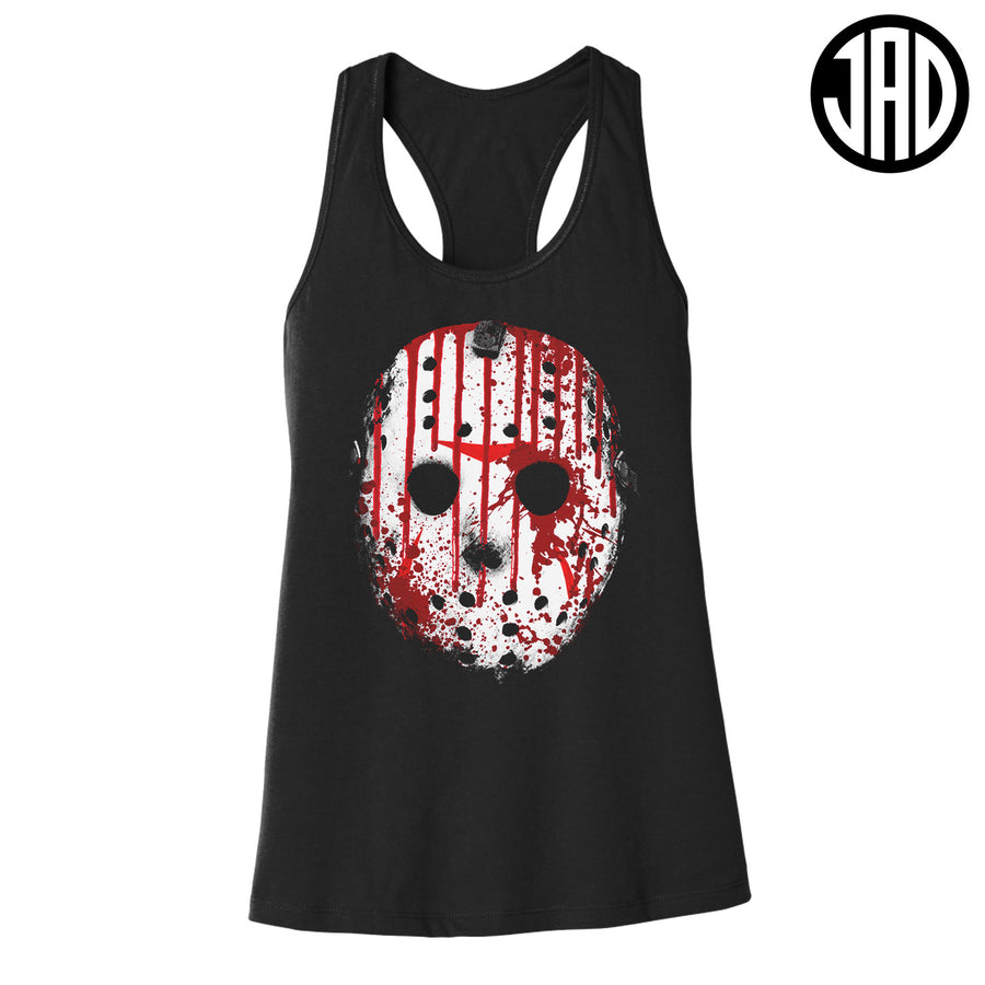 Blood Mask - Women's Racerback Tank