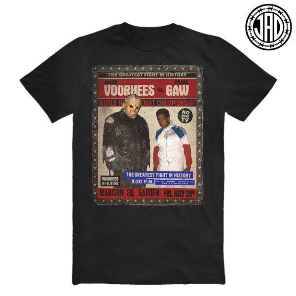 Voorhees vs Gaw - Men's (Unisex) Tee