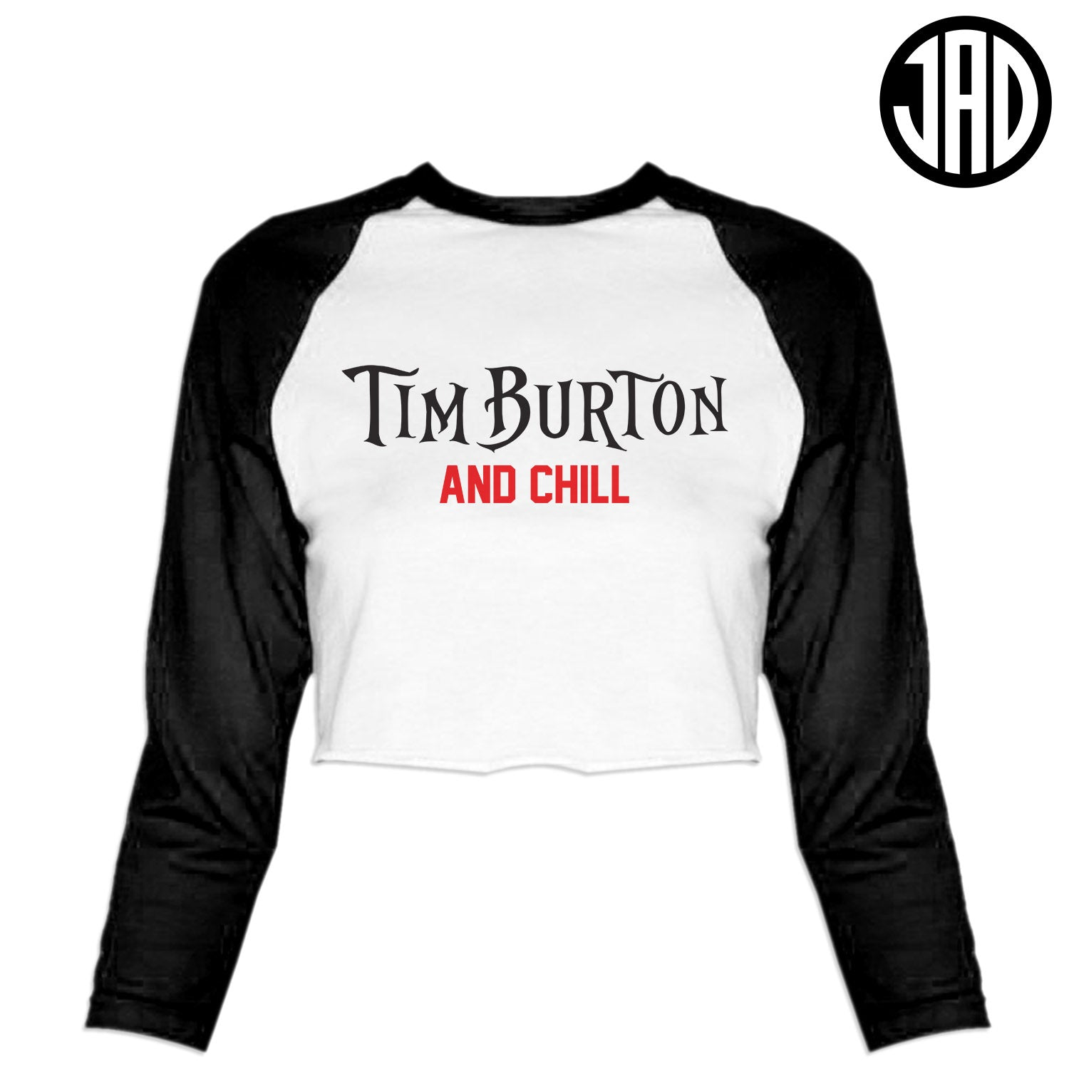 Burton & Chill - Women's Cropped Baseball Tee