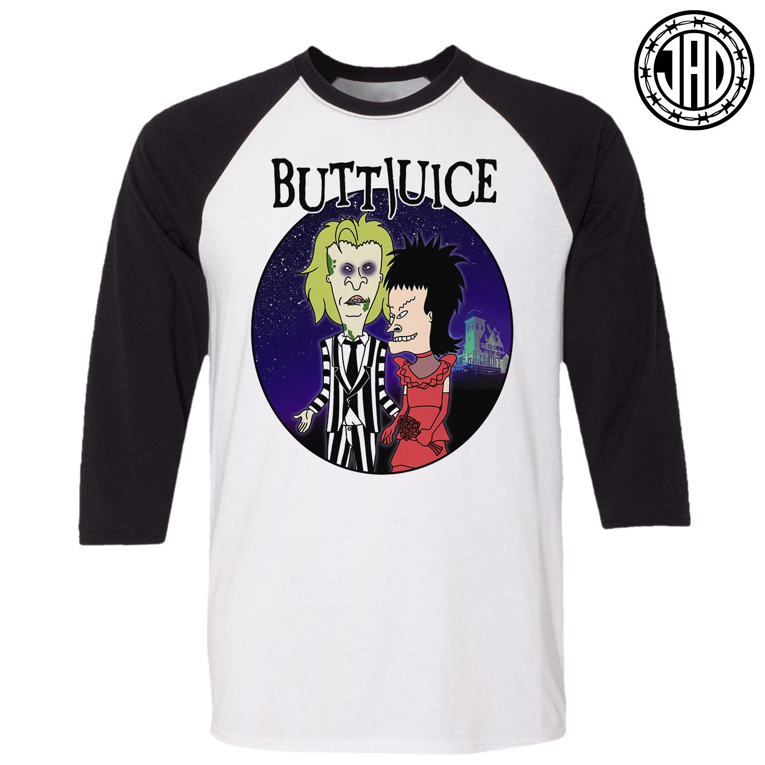 BUTTJUICE - Men's (Unisex) Baseball Tee