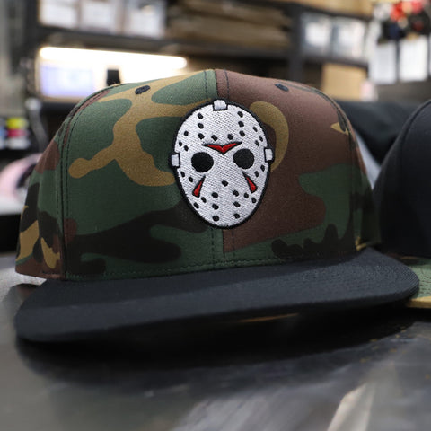 Camp Killer - Camo / Black Bill - Snapback Hat
