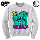 RIP Jason NES - Crewneck Sweater