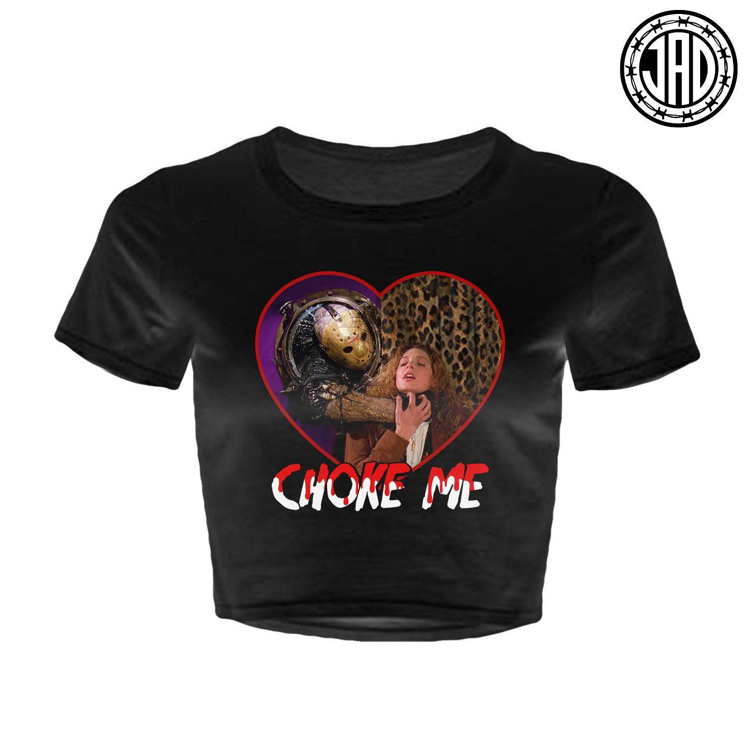 Choke Me - Women's Crop Top