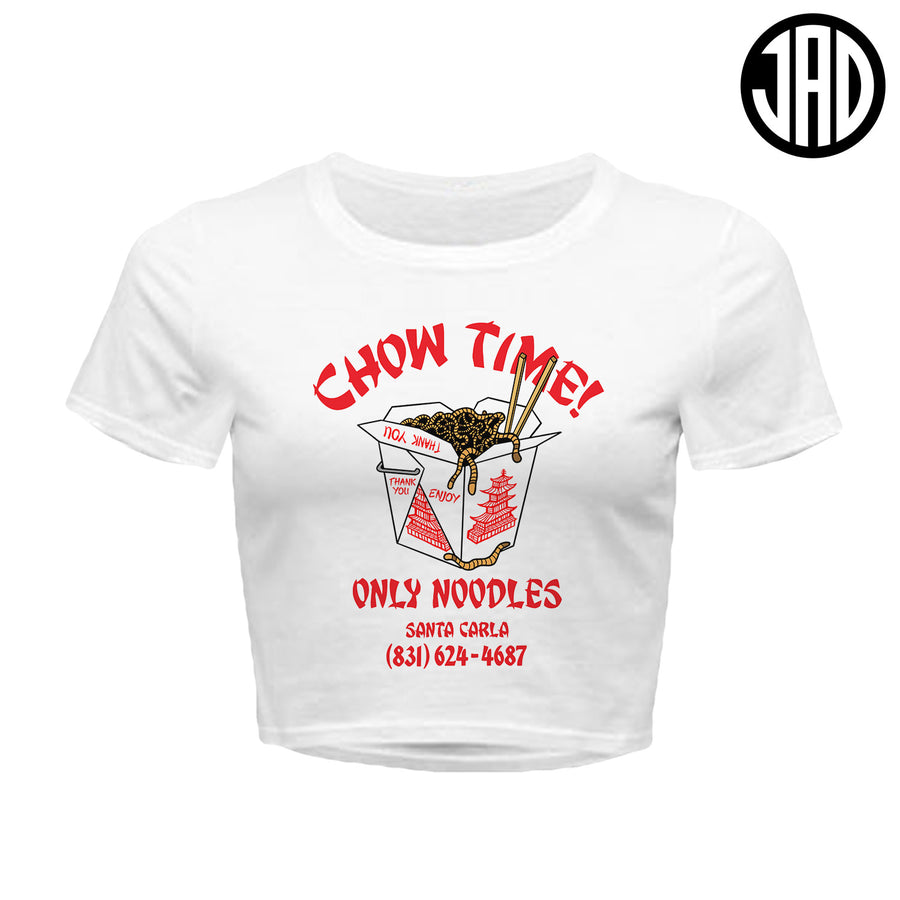 Chow Time - Women's Crop Top