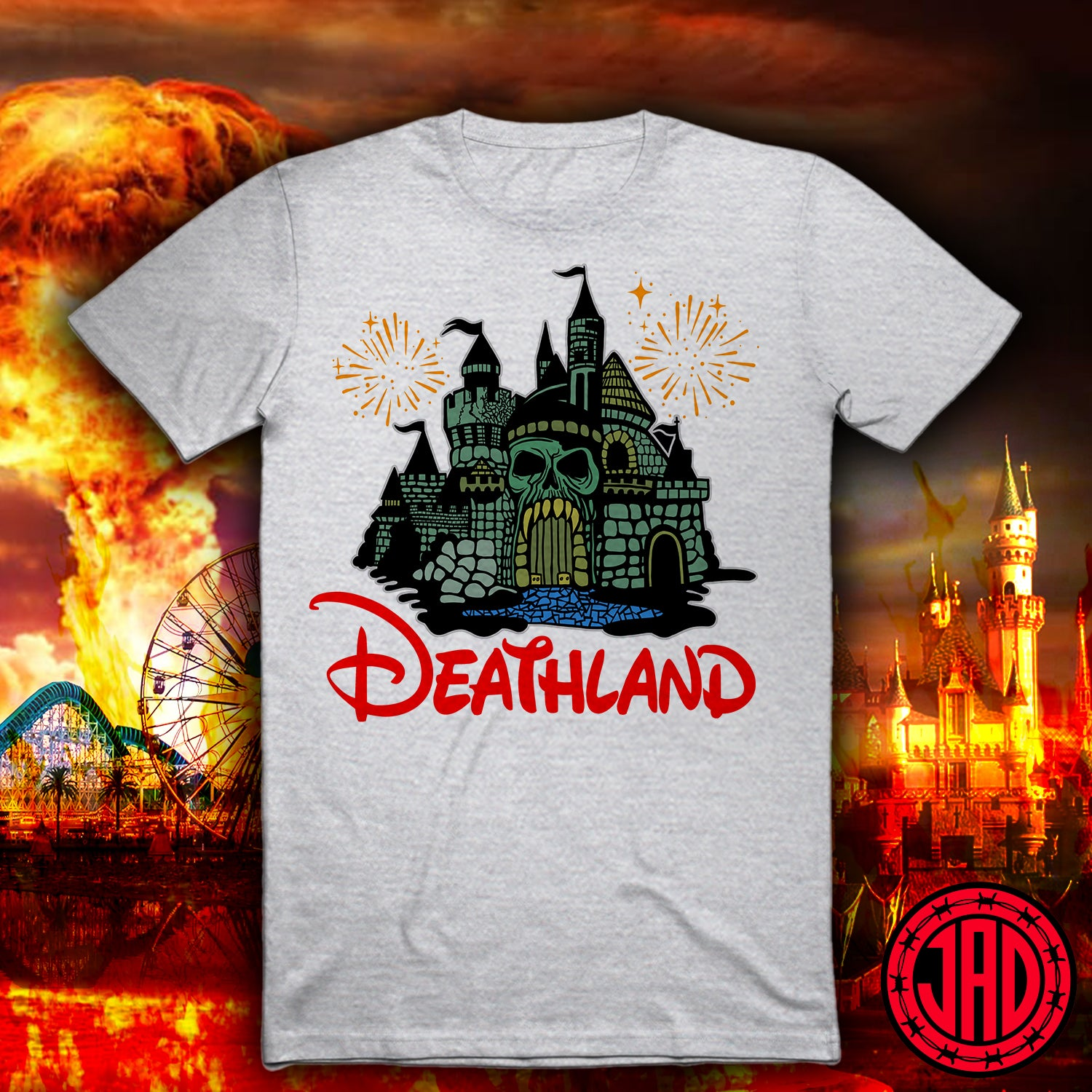 Deathland in Color - Men's (Unisex) Tee