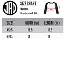 ACS - Women's Cropped Baseball Tee