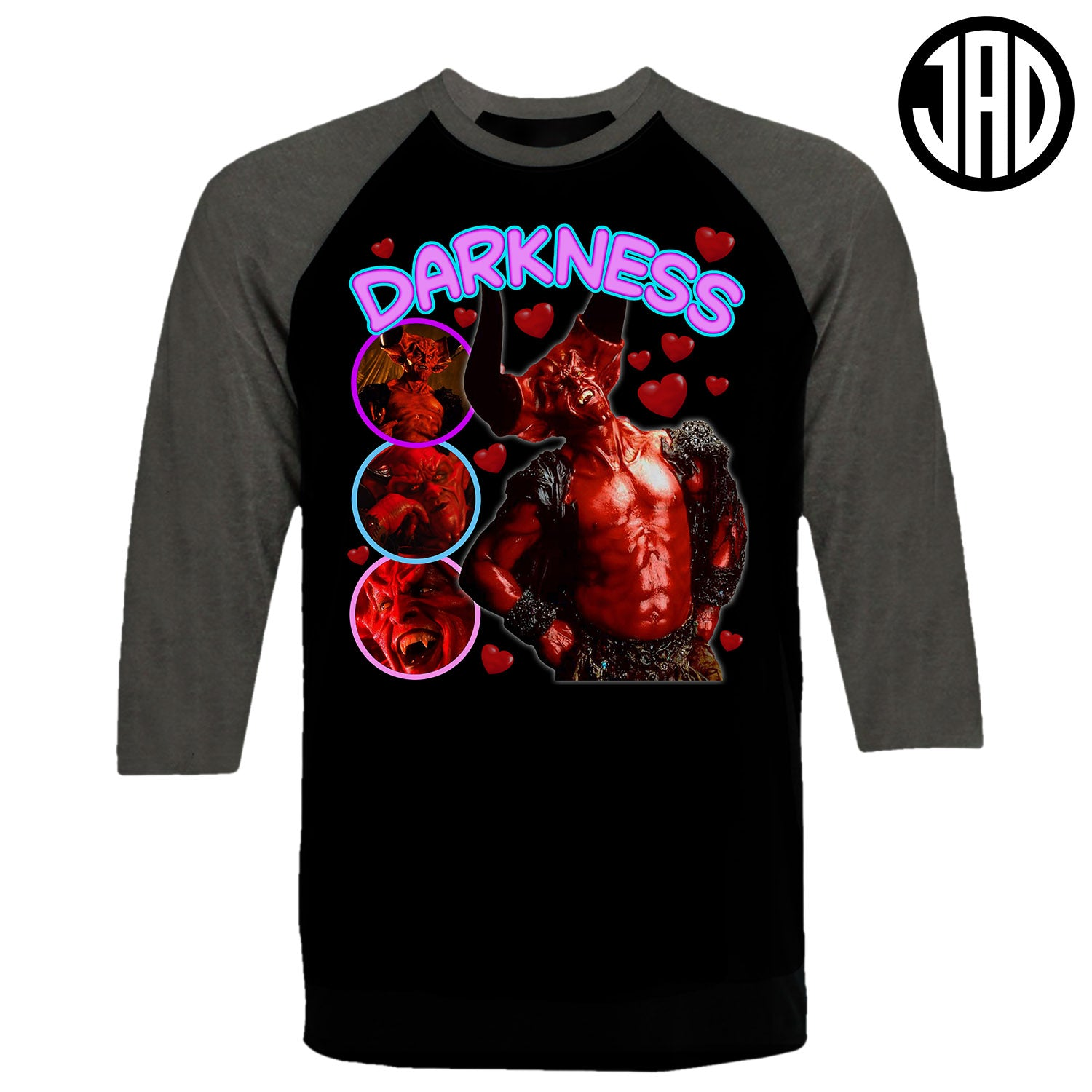 Darkness - Men's Baseball Tee