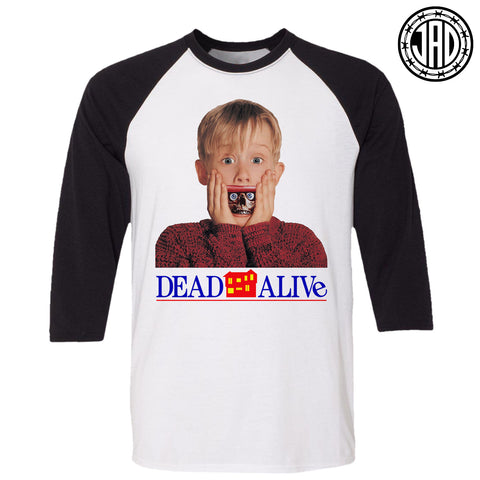 Dead Alone - Men's (Unisex) Baseball Tee