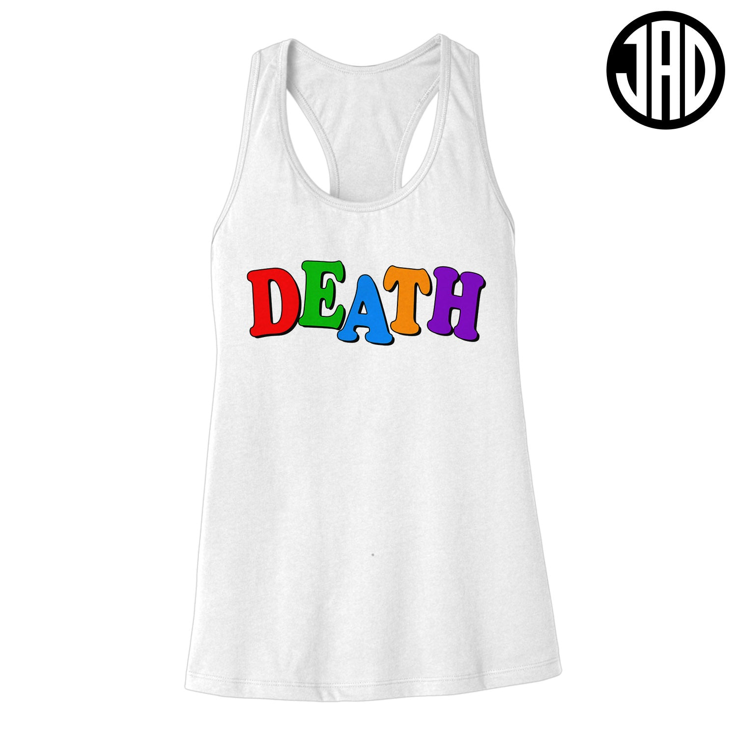 Death School - Women's Racerback Tank