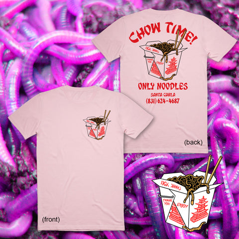 Chow Time Delivery Tee - Men's (Unisex) Tee
