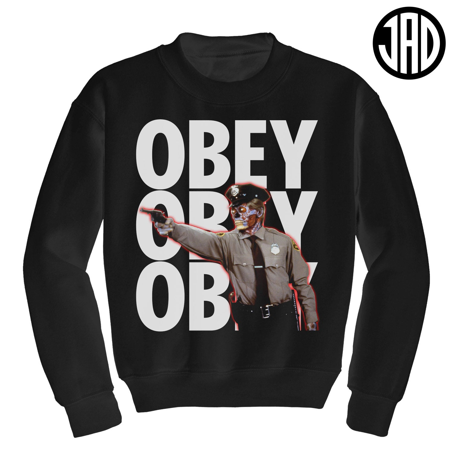 Do Not Question Authority - Crewneck Sweater