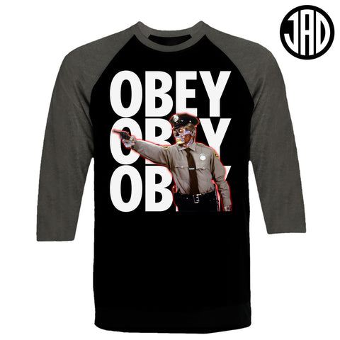 Do Not Question Authority - Men's (Unisex) Baseball Tee
