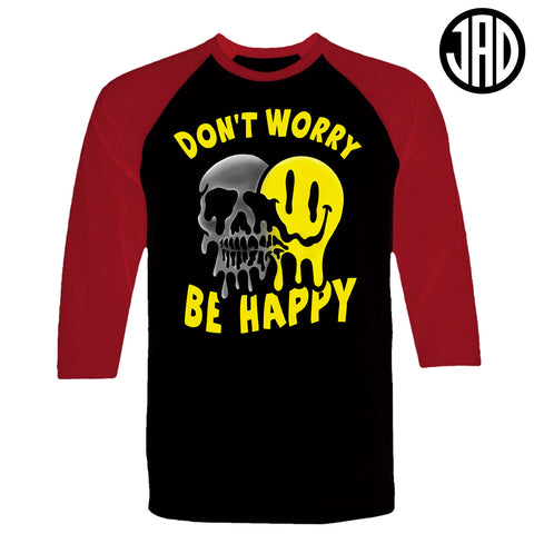 Don't Worry - Men's (Unisex) Baseball Tee
