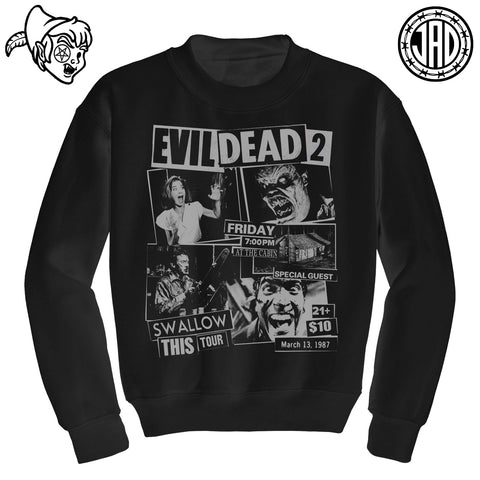 Swallow This Tour - Mens (Unisex) Crewneck Sweater