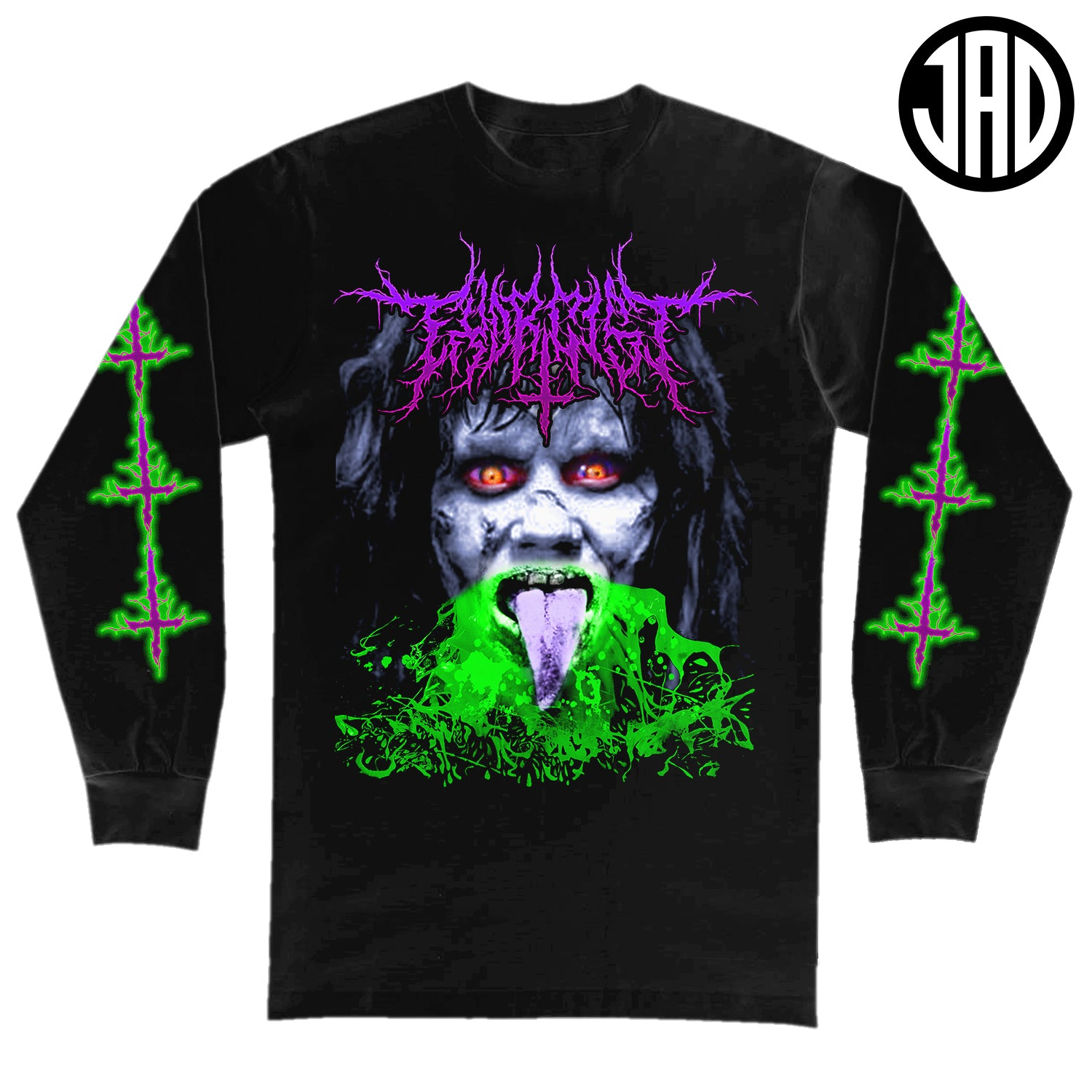 Exorcist Metal - Men's (Unisex) Long Sleeve Tee