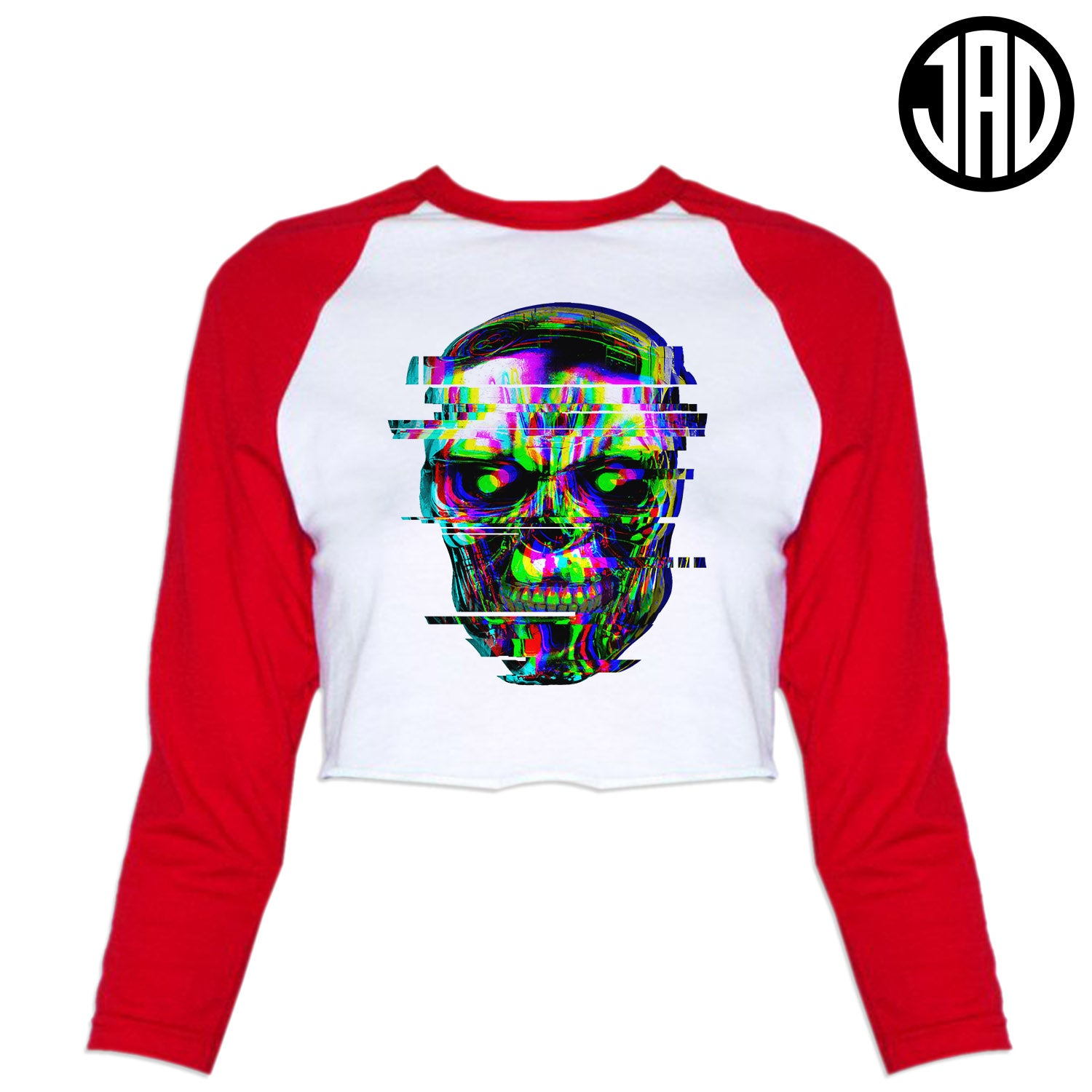 Exterminate - Women's Cropped Baseball Tee