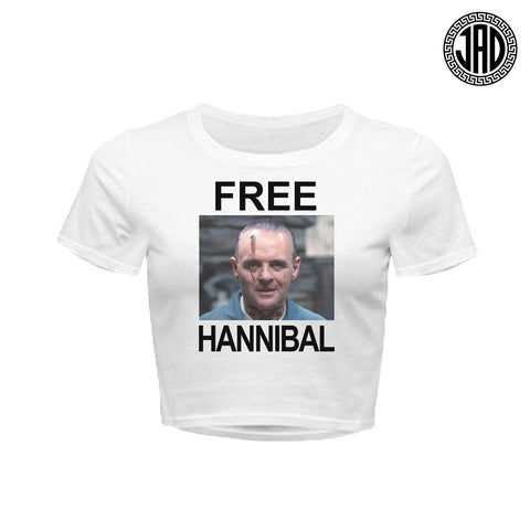 Free Hannibal - Women's Crop Top