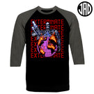 Global Destruction - Men's Baseball Tee