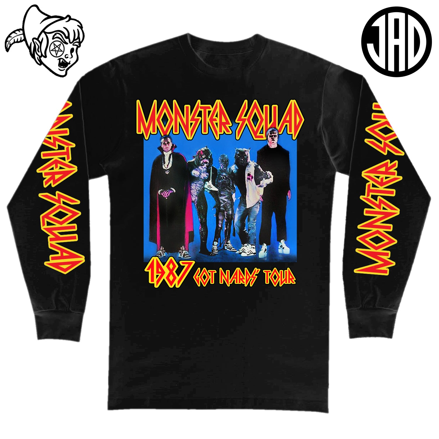 1987 Got Nards Tour - Men's (Unisex) Long Sleeve Tee