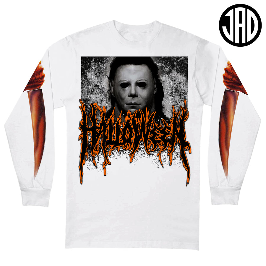 Halloween Metal - Men's (Unisex) Long Sleeve Tee