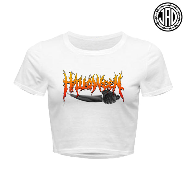 Halloween Hardcore - Women's Crop Top