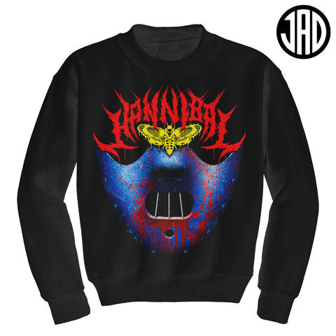 Hannibal Metal - Mens (Unisex) Crewneck Sweater