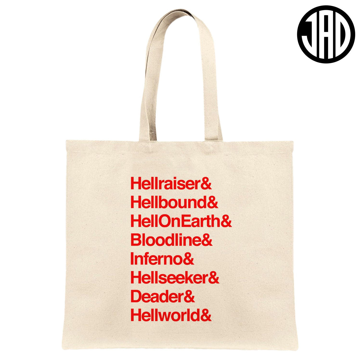 Hell 8 - Canvas Tote Bag
