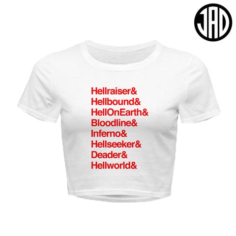 Hell 8 - Women's Crop Top