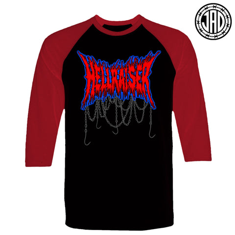 Hellraiser Hardcore - Men's (Unisex) Baseball Tee