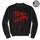 Help Me - Mens (Unisex) Crewneck Sweater